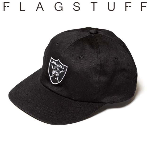 "F-LAGSTUF-F(フラグスタフ) ""Team"" 6PANEL CAP 【19AW-DH-25】 【F-LAGSTUF-F】【FLAGSTUFF】【Delivery Hells】 【フラグスタフ"