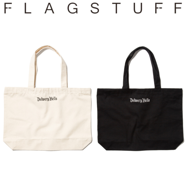 "F-LAGSTUF-F(フラグスタフ) ""Delivery Hells"" TOTE BAG(L) 【19AW-DH-28】 【F-LAGSTUF-F】【FLAGSTUFF】【Delivery Hells】 【"