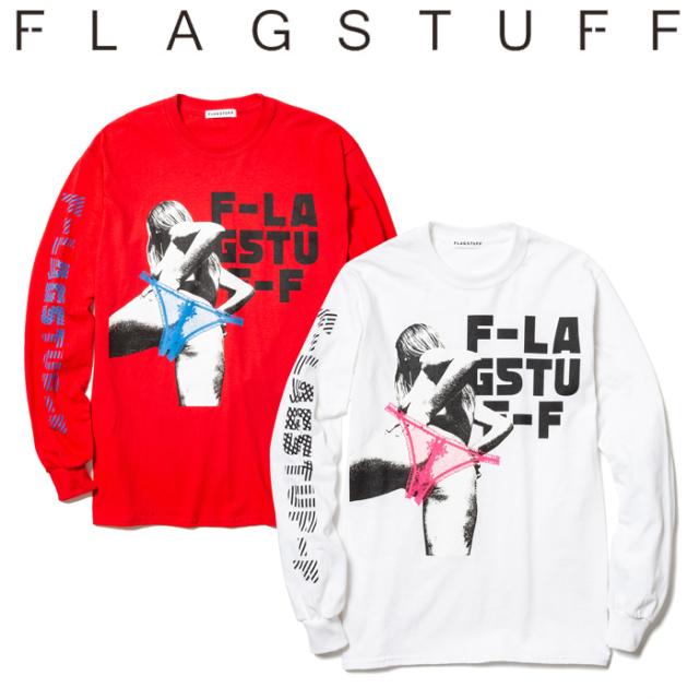 "F-LAGSTUF-F(フラグスタフ) ""back""L/S Tee 【19AW-FS-49】【送料無料】 【F-LAGSTUF-F】【FLAGSTUFF】 【フラグスタフ】【フラッ"