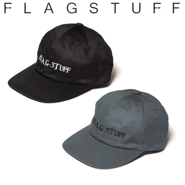 "F-LAGSTUF-F(フラグスタフ) ""MIX LOGO"" CAP 【キャップ 帽子】【2019 AUTUMN&WINTER COLLECTION】 【FLAGSTUFF】【フラグスタフ】"