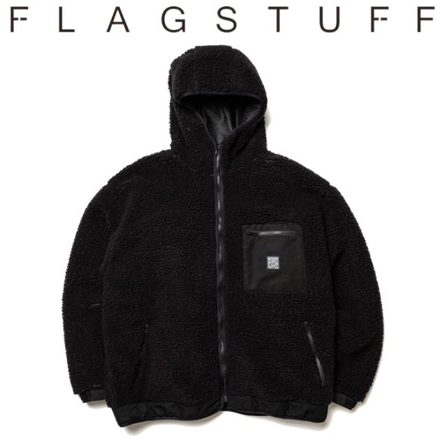 F-LAGSTUF-F フラグスタフ ジャケット F/Z OVER HOODIE 【アウター フリース ボア ジャケット】【送料無料】【19AW-SPOT-FS-01】