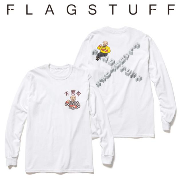 F-LAGSTUF-F(フラグスタフ)×Don't Come L/S TEE 【5th Anniversary item】 【F-LAGSTUF-F】【フラグスタフ】【フラッグスタッフ】
