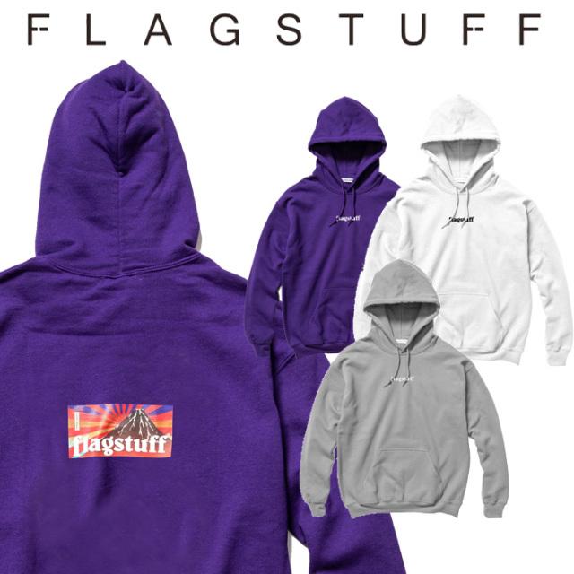 """F-LAGSTUF-F(フラグスタフ) """"BOX LOGO"""" HOODIE 【5th Anniversary item】 【F-LAGSTUF-F】【フラグスタフ】【フラッグスタッフ】"""