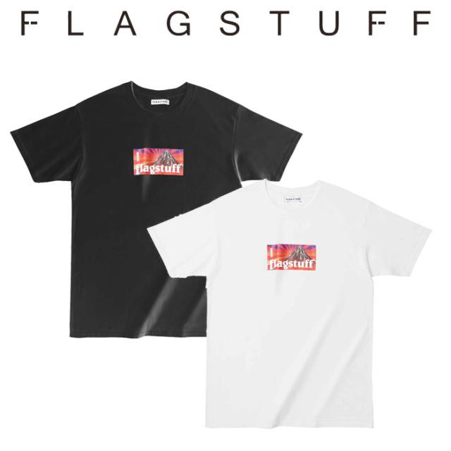 """F-LAGSTUF-F(フラグスタフ) """"BOX LOGO"""" Tee 【5th Anniversary item】 【F-LAGSTUF-F】【フラグスタフ】【フラッグスタッフ】 【"""