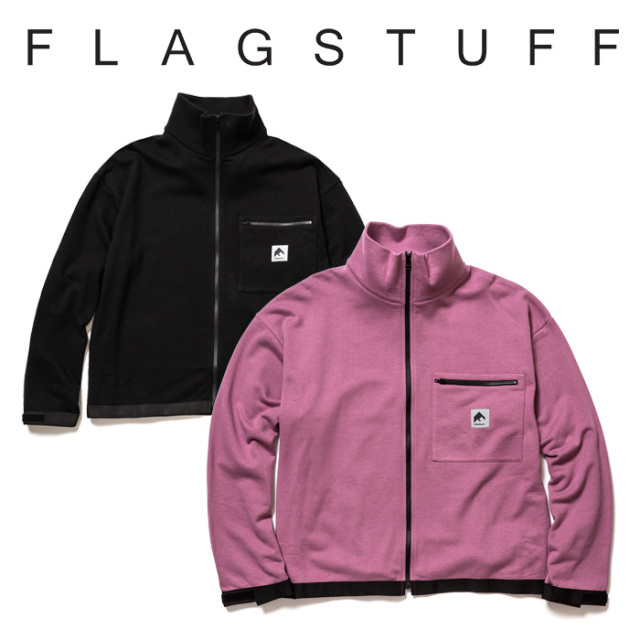 【SALE30%OFF】 F-LAGSTUF-F(フラグスタフ) F/Z MILITARY SWEAT 【2019 SPRING&SUMMER COLLECTION】 【F-LAGSTUF-F】【フラグス