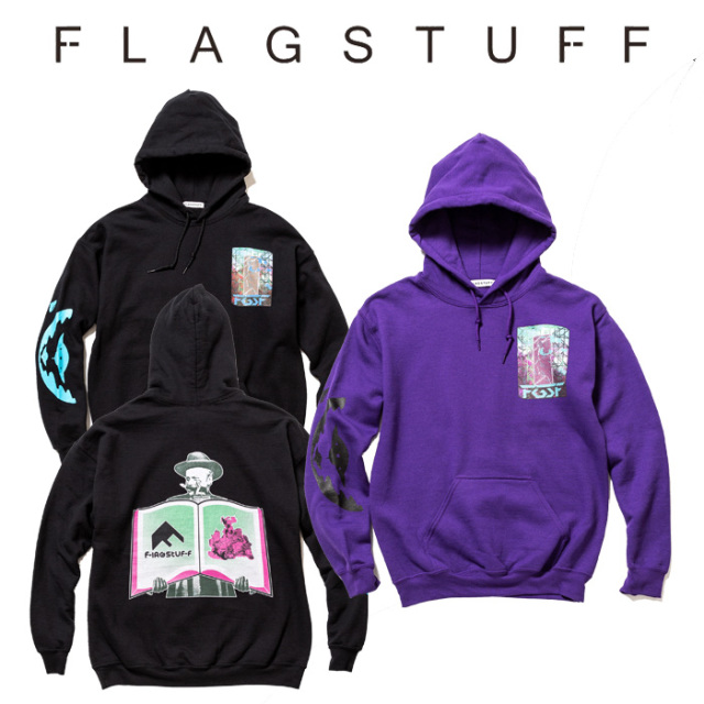 "【SALE30%OFF】 F-LAGSTUF-F(フラグスタフ) ""Spark"" HOODIE 【2019 SPRING&SUMMER COLLECTION】 【F-LAGSTUF-F】【フラグスタフ"
