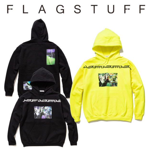 "【SALE30%OFF】 F-LAGSTUF-F(フラグスタフ) ""Labo"" HOODIE 【2019 SPRING&SUMMER COLLECTION】 【F-LAGSTUF-F】【フラグスタフ】"