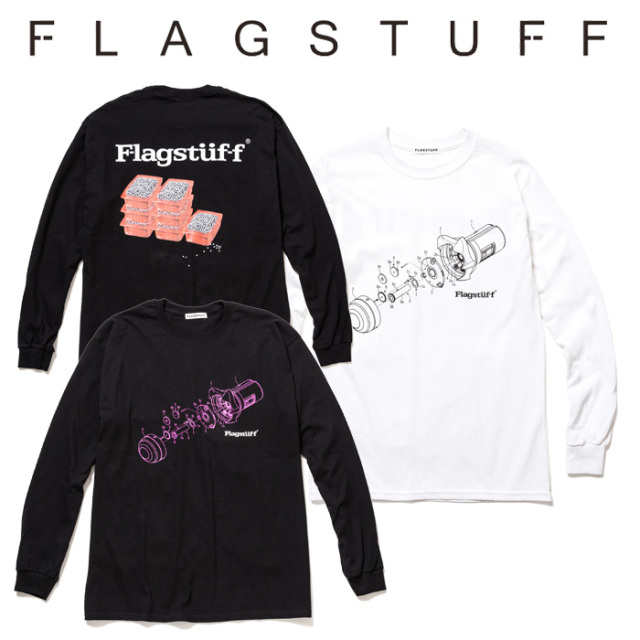 "F-LAGSTUF-F(フラグスタフ) ""Dependence"" L/S Tee 【2019 SPRING&SUMMER COLLECTION】 【F-LAGSTUF-F】【フラグスタフ】【フラッ"
