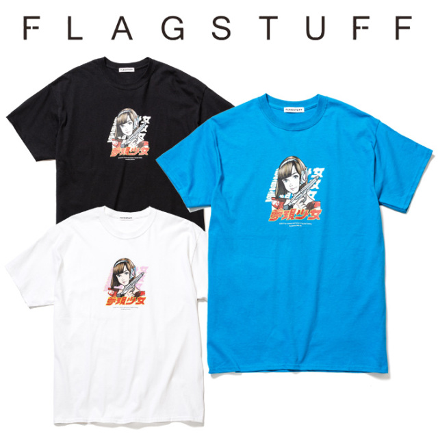 "F-LAGSTUF-F(フラグスタフ) ""Dream and reality"" Tee 2 【2019 SPRING&SUMMER COLLECTION】 【F-LAGSTUF-F】【フラグスタフ】【フ"