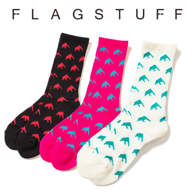 """F-LAGSTUF-F(フラグスタフ) """"F LOGO"""" SOX 【2019SPRING&SUMMER COLLECTION】 【F-LAGSTUF-F】 【フラグスタフ】【フラッグスタッ"""