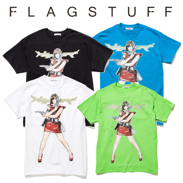 "F-LAGSTUF-F(フラグスタフ) ""Dream and reality"" Tee 1 【2019 SPRING&SUMMER COLLECTION】 【F-LAGSTUF-F】【フラグスタフ】【フ"