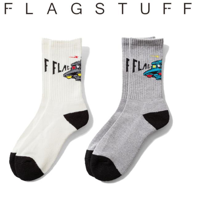 """F-LAGSTUF-F(フラグスタフ) """"UFO"""" SOX 【ソックス 靴下】【20AW-FS-102】 【F-LAGSTUF-F】【FLAGSTUFF】【フラグスタフ】【フラッ"""