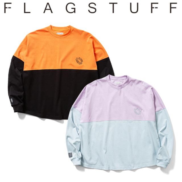 F-LAGSTUF-F(フラグスタフ) FB L/S Tee 【ロングスリーブTシャツ ロンT】【20AW-FS-47】 【F-LAGSTUF-F】【FLAGSTUFF】 【フラグ
