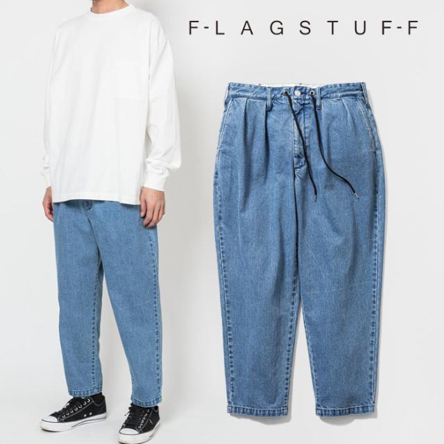 F-LAGSTUF-F(フラグスタフ) Cholo Relay PANTS 2(DENIM) 【デニム パンツ】【20AW-FS-58】【F-LAGSTUF-F】【FLAGSTUFF】【フラグス
