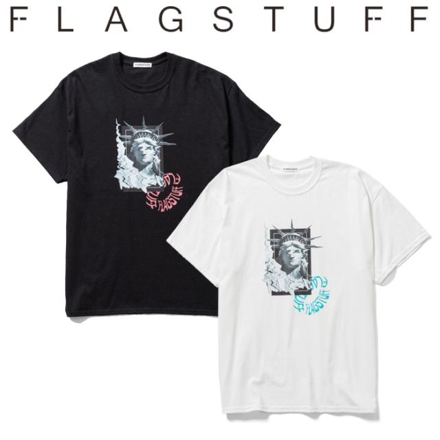 """F-LAGSTUF-F フラグスタフ Tシャツ """"Liberty"""" S/S Tee 【半袖Tシャツ】【20AW-FS-76】 【F-LAGSTUF-F】【FLAGSTUFF】【フラグスタ"""