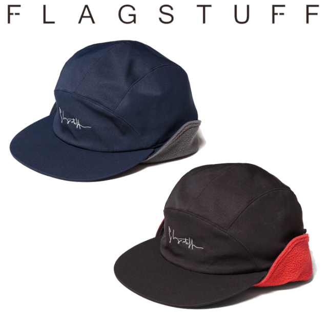 【SALE30%OFF】 F-LAGSTUF-F(フラグスタフ) NYLON FLEECE CAP 【キャップ 帽子 ナイロン フリース】【セール】【返品・交換不可】