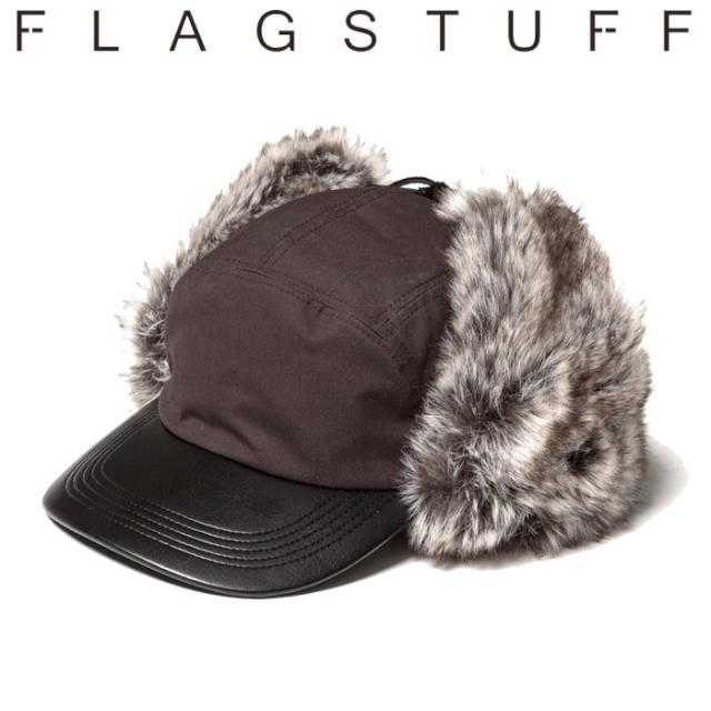 F-LAGSTUF-F(フラグスタフ) FUR FLIGHT CAP 【キャップ 帽子】【フライト キャップ】【20AW-FS-99】 【F-LAGSTUF-F】【FLAGSTUFF