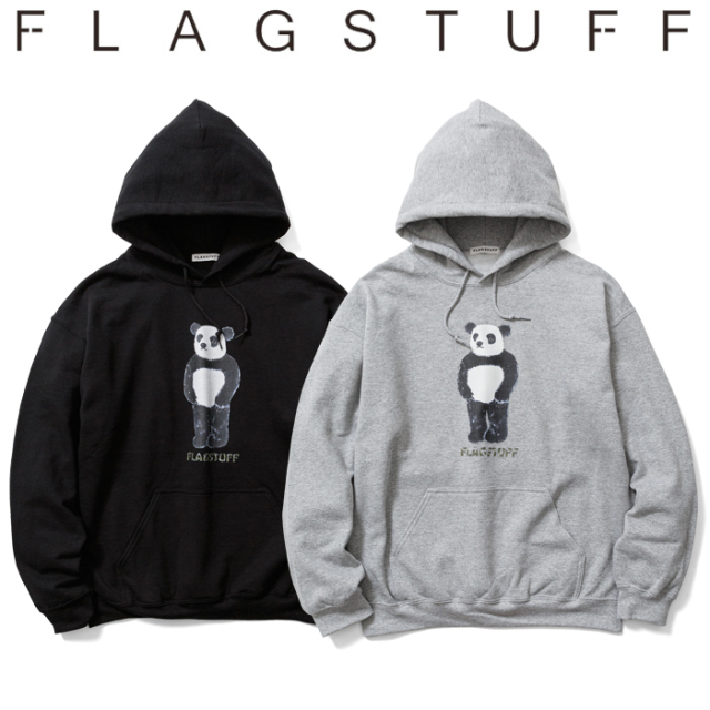 "F-LAGSTUF-F(フラグスタフ) ""PANDA"" HOODIE 【スウェット パーカー フーディー】【送料無料】【20AW-SPOT-FS-05】【F-LAGSTUF-F】"