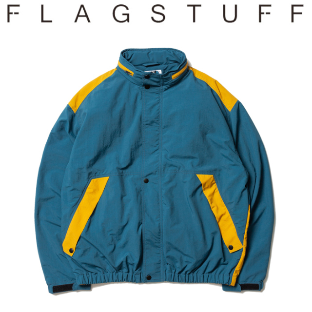 【SALE30%OFF】 F-LAGSTUF-F(フラグスタフ) NYLON JKT 【ナイロンジャケット】【20SS-FS-07】【セール】【F-LAGSTUF-F】【FLAGSTU