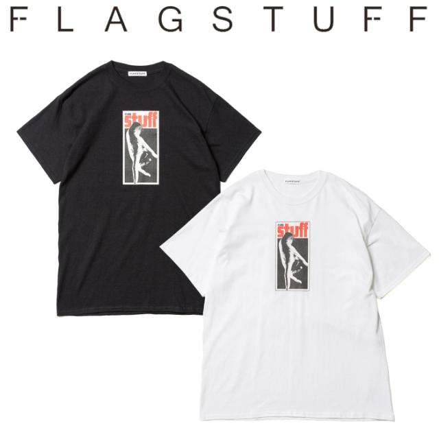 """F-LAGSTUF-F フラグスタフ Tシャツ """"Label"""" Tee 【半袖Tシャツ】【20SS-FS-59】 【F-LAGSTUF-F】【FLAGSTUFF】【フラグスタッフ】"""
