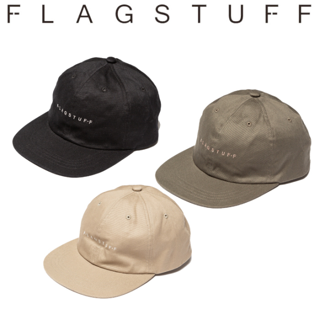 "F-LAGSTUF-F(フラグスタフ) ""F-LAGSTUF-F"" LOGO CAP 【キャップ 帽子】【20SS-FS-71】 【F-LAGSTUF-F】【FLAGSTUFF】【フラグス"