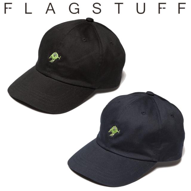"F-LAGSTUF-F(フラグスタフ) ""MONSTER"" LOGO CAP 【キャップ 帽子】【20SS-FS-73】 【F-LAGSTUF-F】【FLAGSTUFF】【フラグスタフ"