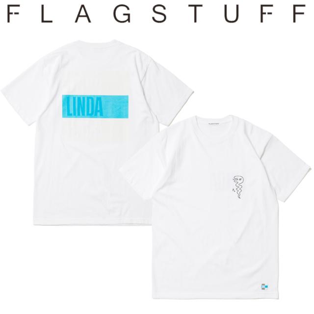 "F-LAGSTUF-F フラグスタフ Tシャツ ""LINDA"" Tee 【半袖Tシャツ】【20SS-FS×BV-02】 【F-LAGSTUF-F】【FLAGSTUFF】【フラグスタッ"