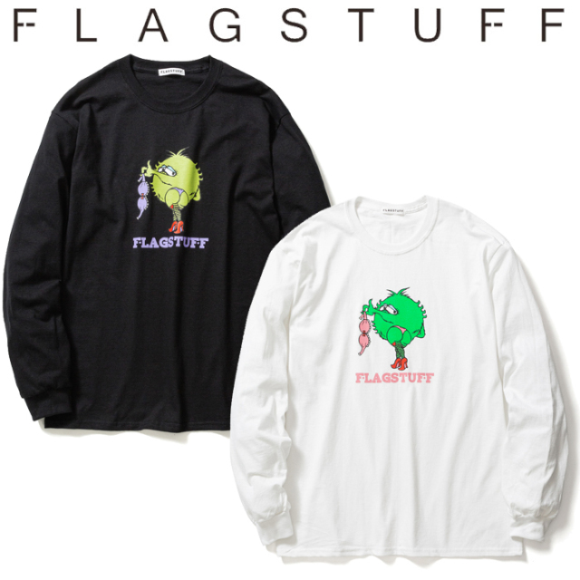 "F-LAGSTUF-F(フラグスタフ) ""MONSTER"" L/S Tee 【ロングスリーブTシャツ ロンT】【送料無料】【20SS-SPOT-FS-07】 【F-LAGSTUF-F"