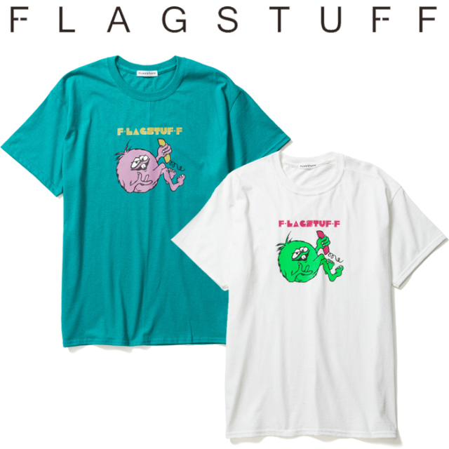 "F-LAGSTUF-F フラグスタフ Tシャツ ""MONSTER"" Tee 1 【半袖Tシャツ】【20SS-SPOT-FS-10】 【F-LAGSTUF-F】【FLAGSTUFF】【フラグ"