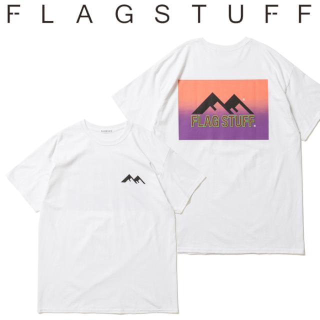 "F-LAGSTUF-F フラグスタフ Tシャツ ""WF"" Tee 【半袖Tシャツ】【20SS-SPOT-FS-12】 【F-LAGSTUF-F】【FLAGSTUFF】【フラグスタッフ"