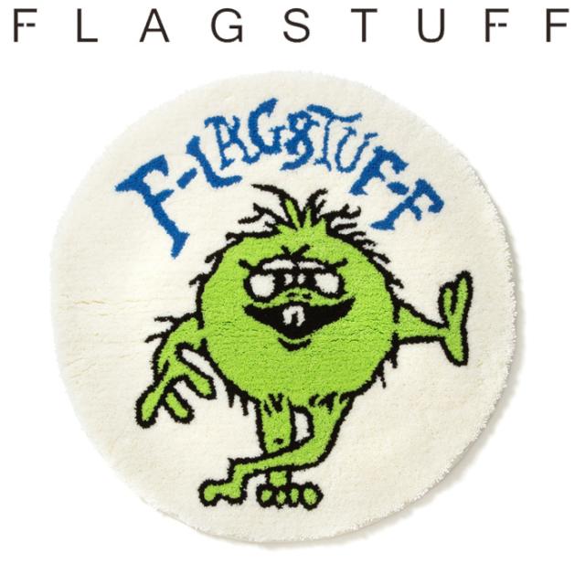 "F-LAGSTUF-F フラグスタフ ""MONSTER"" MAT 【マット ラグ】【20SS-SPOT-FS-16】 【F-LAGSTUF-F】【FLAGSTUFF】【フラグスタッフ】"
