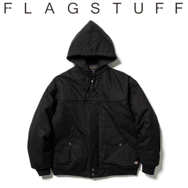 F-LAGSTUF-F (フラグスタフ)  DUCK DERBY JKT 【ダービージャケット フード】【21AW-FSxDickies-01】【DICKIES ディッキーズ コラ