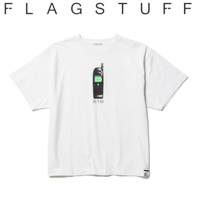 """F-LAGSTUF-F(フラグスタフ) """"619"""" S/S Tee 【Tシャツ 半袖】【21AW-FS-60】【F-LAGSTUF-F FLAGSTUFF】 【フラグスタフ フラッグス"""