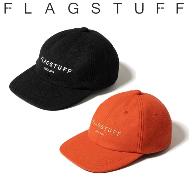 """F-LAGSTUF-F (フラグスタフ)  """"F-LAGSTUF-F"""" LOGO CAP 【キャップ 帽子】【21AW-FS-76】【FLAGSTUFF フラグスタフ フラッグスタッ"""