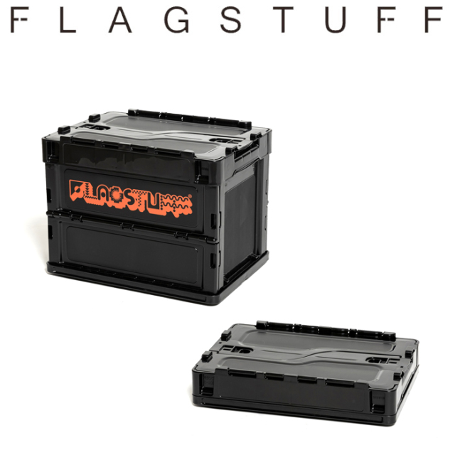 F-LAGSTUF-F(フラグスタフ) CONTAINER BOX(SMALL) 【コンテナボックス】【21AW-FS×ED-04】【FLAGSTUFF フラグスタフ フラッグスタ