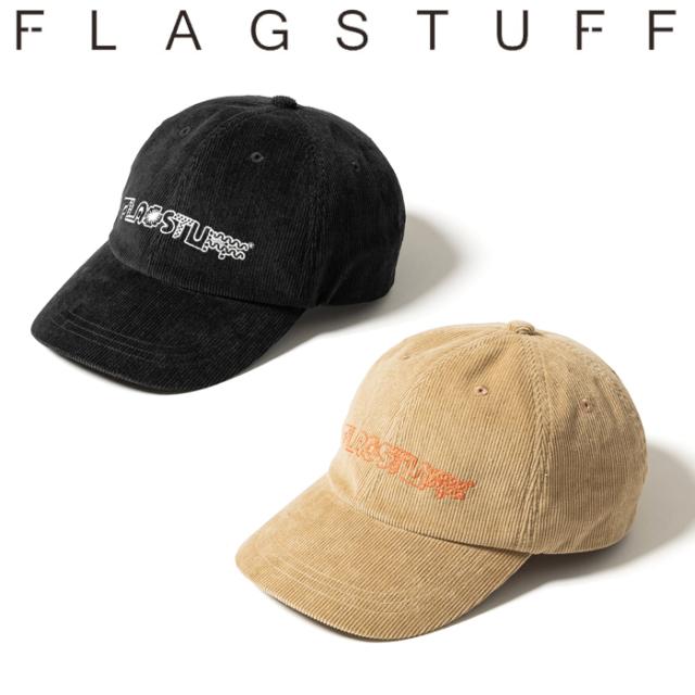 F-LAGSTUF-F (フラグスタフ)  CORDS CAP 【キャップ 帽子】【Ed Davis エド・デイヴィス】【21AW-FSxED-03】【FLAGSTUFF フラグス