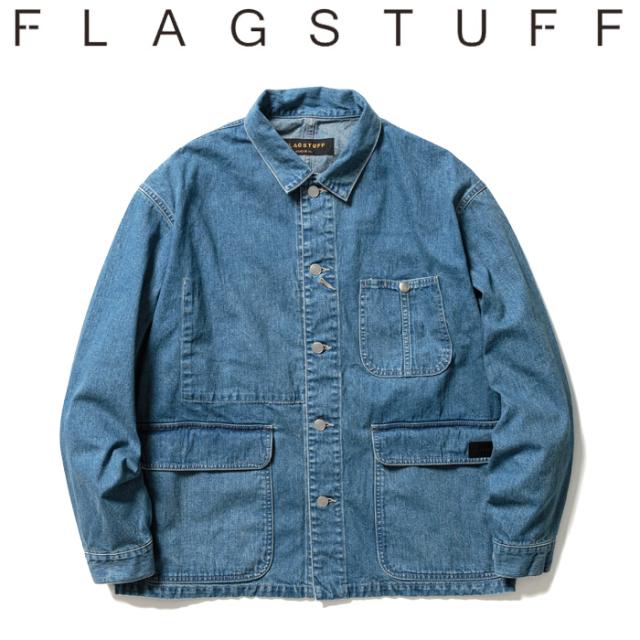 F-LAGSTUF-F フラグスタフ Denim C-A 【デニムジャケット】【21SS-FS-05】【F-LAGSTUF-F】【FLAGSTUFF】【フラグスタッフ】【フラ