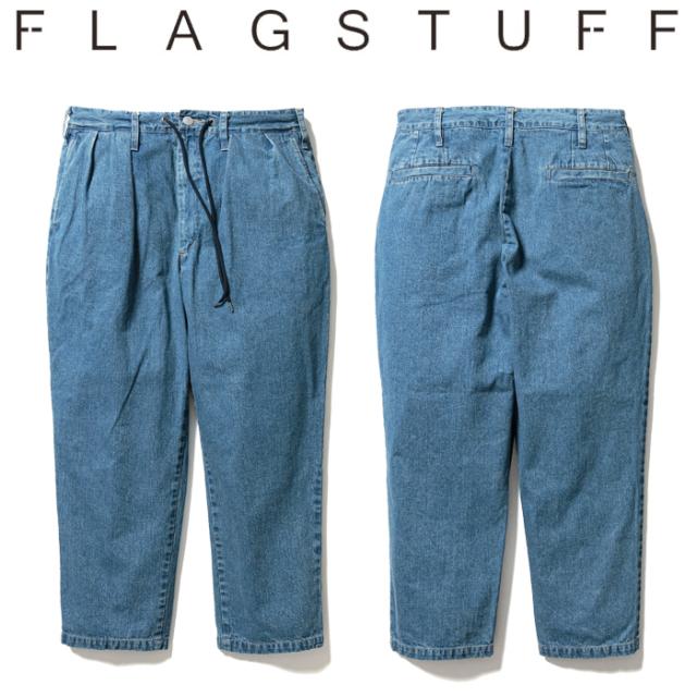 F-LAGSTUF-F(フラグスタフ) Cholo Relay Pt Style2(Denim) 【デニム パンツ】【21SS-FS-06】【F-LAGSTUF-F】【FLAGSTUFF】【フラグ