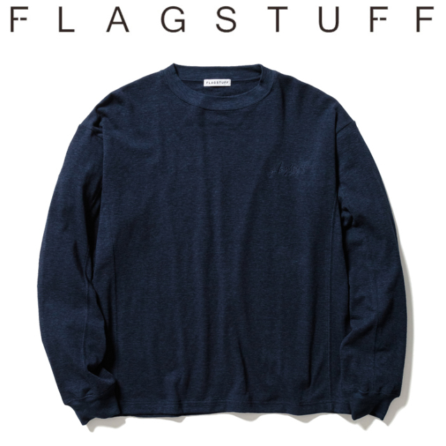 F-LAGSTUF-F(フラグスタフ) PILE L/S Tee 【ロングスリーブTシャツ ロンT パイル】【21SS-FS-34】【F-LAGSTUF-F】【FLAGSTUFF】【