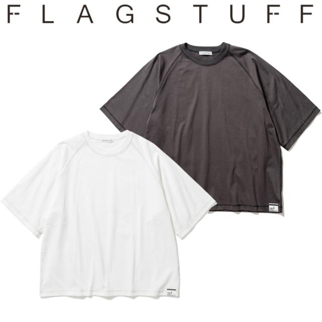 F-LAGSTUF-F(フラグスタフ) 3/4 Sleeve Tee 【Tシャツ 五分袖 フットボールT】【21SS-FS-36】【F-LAGSTUF-F】【FLAGSTUFF】 【フ