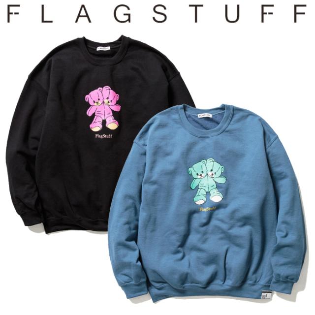 """F-LAGSTUF-F(フラグスタフ) """"Hi"""" SWEAT 【スウェット 】【送料無料】【21SS-FS-49】【F-LAGSTUF-F】【FLAGSTUFF】 【フラグスタフ"""