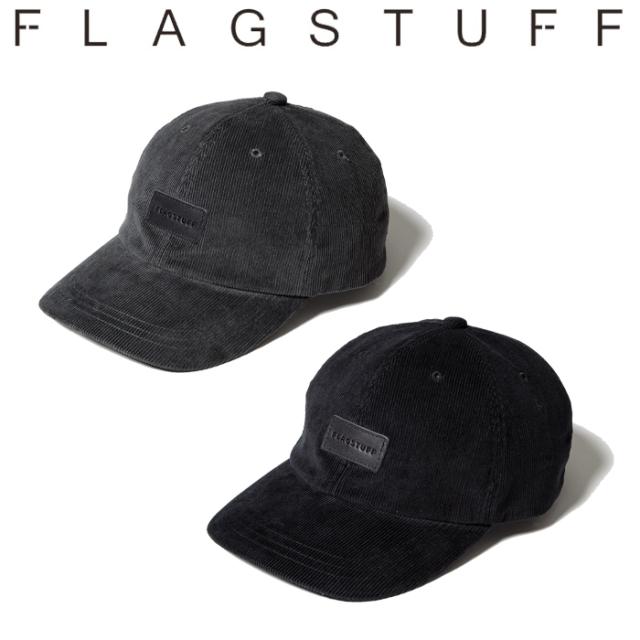 F-LAGSTUF-F(フラグスタフ) LEATHER PATCH LOGO CAP 【キャップ 帽子】【21SS-FS-72】 【F-LAGSTUF-F】【FLAGSTUFF】【フラグス