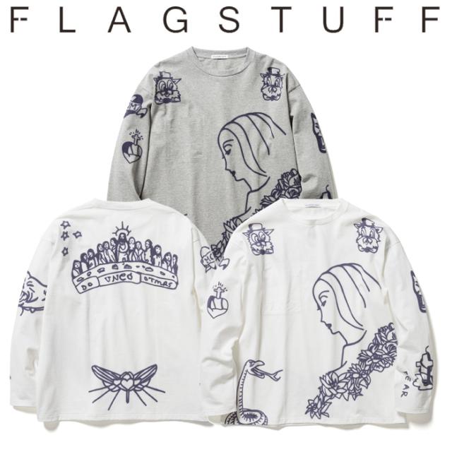 """F-LAGSTUF-F(フラグスタフ) """"O'Neil"""" L/S Tee 【ロングスリーブTシャツ ロンT】【送料無料】【21SS-FS-32】 【F-LAGSTUF-F】【FLA"""
