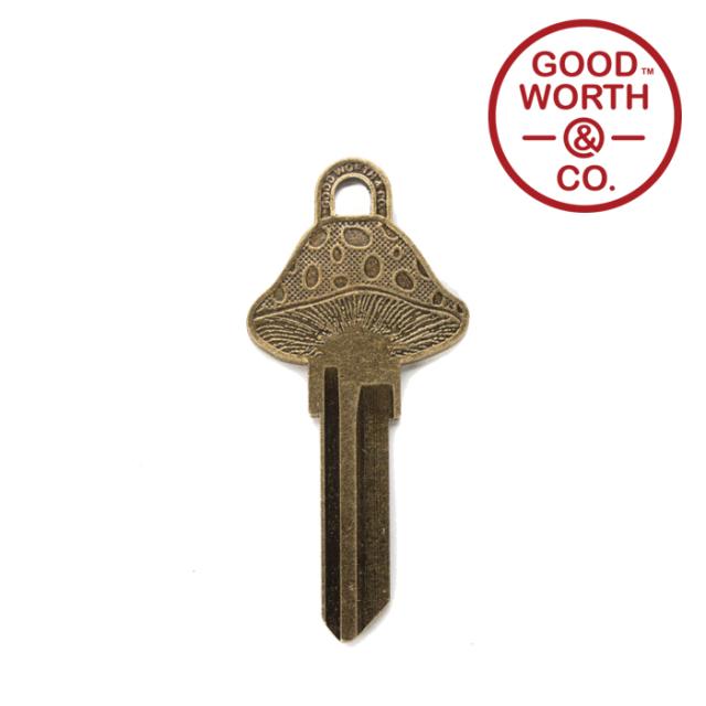 GOOD WORTH (グッドワース) & CO.   Boomer Key 【KW1 SC1】【キー 合鍵 キーホルダー】