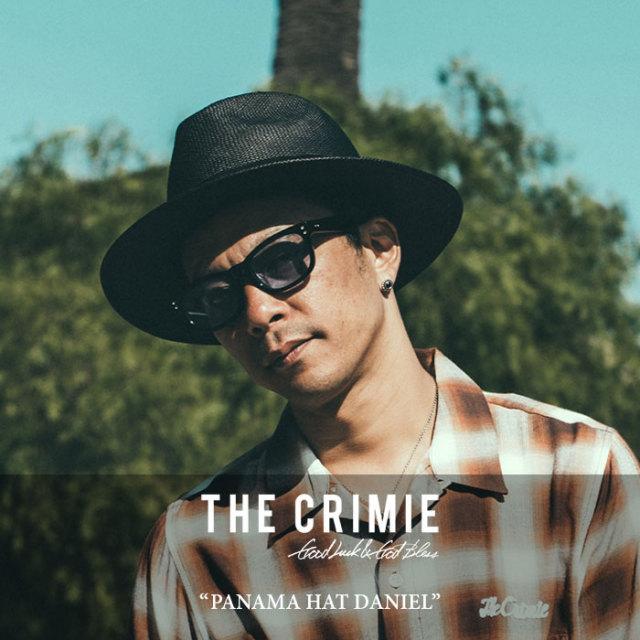 CRIMIE(クライミー) PANAMA HAT DANIEL 【2018SPRING/SUMMER先行予約】 【送料無料】【キャンセル不可】 【C1H1-C1G3-HT01】 【