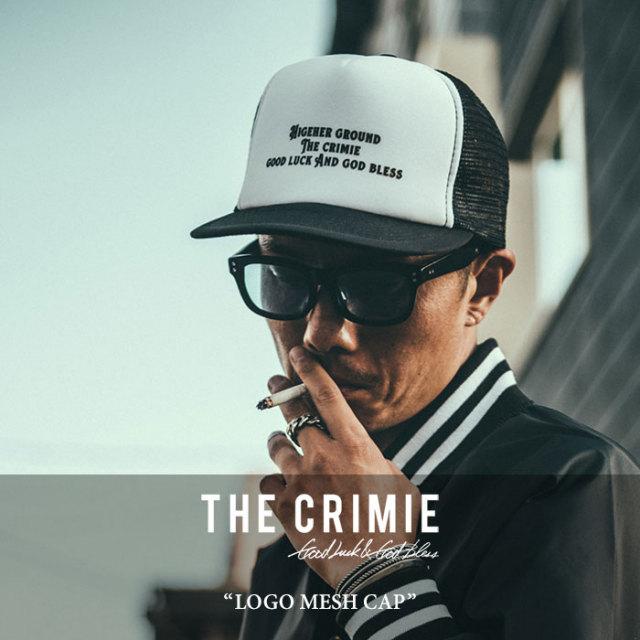 CRIMIE(クライミー) LOGO MESH CAP 【2018SPRING/SUMMER新作】 【C1H1-CP02】 【CRIMIE キャップ】