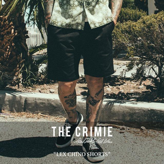 【SALE 50%OFF】 CRIMIE(クライミー) LEX CHINO SHORTS 【2018SPRING/SUMMER新作】【C1H1-CXLX-PT03】 【チノ】【ショーツ】
