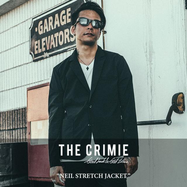 CRIMIE(クライミー) NEIL STRETCH JACKET 【2018SPRING/SUMMER先行予約】 【送料無料】【キャンセル不可】 【C1H1-CXNL-JK01】