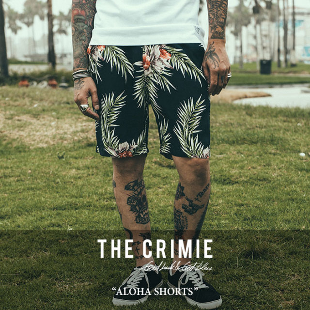 【SALE50%OFF】 CRIMIE(クライミー) ALOHA SHORTS 【2018SPRING/SUMMER新作】【C1H1-PT04】