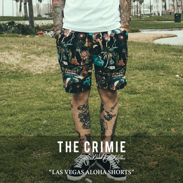 【SALE】 CRIMIE(クライミー) LAS VEGAS ALOHA SHORTS 【2018SPRING/SUMMER新作】 【送料無料】【即発送可能】 【C1H1-PT05】
